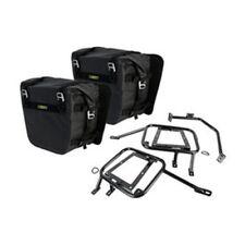 Kawasaki KLR650 2008–2018 Tusk Pannier Racks w/ Nelson Rigg Dry Saddlebags