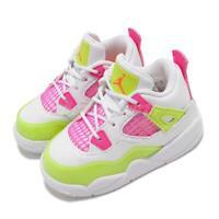 Nike Air Jordan 5 Retro SE TD V Lemon Venom Pink White Toddler Infant CV7807-100