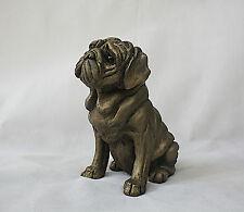 Pug Rocky (Large) - Harriet Dunn - Bronze - Superb Gift