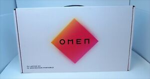 """HP OMEN 15.6"""" Gaming Laptop - i7-10750H 2.6GHz - RTX 3070 - 512GB SSD NEW Sealed"""
