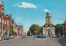 Husum , Marktplatz und Rathaus  ,Ansichtskarte, 1987 gelaufen