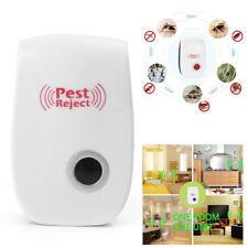 Hot Ultrasonic Pest Reject Mosquito Insect Killer Repeller Electronic EU PLUG