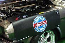 Fiat Black Chrysler Plymouth car mechanics fender cover paint protector vintage