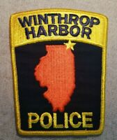 IL Winthrop Harbor Illinois Police Patch
