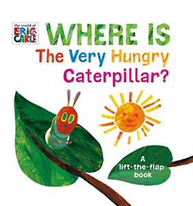 Carle Eric-Where Is The Very Hungry Caterpillar (US IMPORT) HBOOK NEW