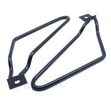 Saddle bag Support Bars Mount Bracket For Harley Sportster 883 Iron Dyna