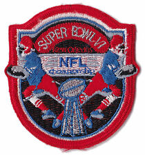 "1972 SUPER BOWL VI NFL FOOTBALL 2.5"" MINI PATCH COWBOYS DOLPHINS"