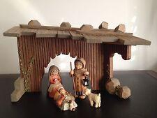 Anri Ferrandiz nativity set with Swarovski cyrstals....extremely Rare---Limited!