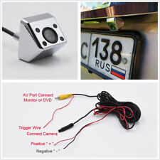 IR Car Rear View Camera Night Vision 170° Wide Angle Back Up Camera Waterproof