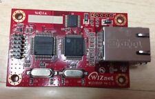 Modulo conversor Uart RS232 3V3 TTL a Ethernet Wiznet WIZ105SR