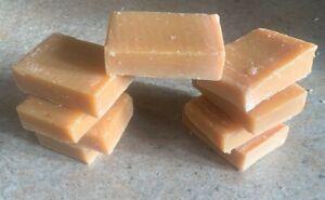Antibacterial Orange & Grapefruit Natural Handmade Soap [Off Cuts] 9 Bars £9.95!