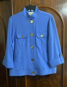 Draper's & Damon's Women's Blue Jacket P L