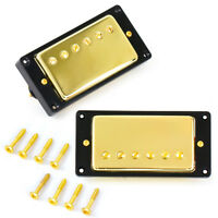 Humbucker Neck and Bridge Guitar Pickup Set For Gibson Guitar Parts Gold
