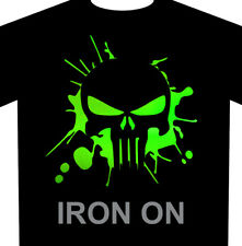 Punisher Splash Iron-On Heat Transfer Vinyl Fabric Transfer HTV