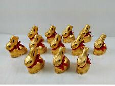 Lindt Milk Chocolate Gold Bunny 3.5oz Qty 12 BB 08/20