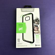 BodyGuardz Contact Case DCCB0-SAS7E-3C0 for Samsung Galaxy S7 Edge -Black/Clear