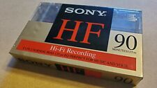 Sony Hi-Fi Blank Cassette, New, Unopened, 90 Minute ~ Free Shipping