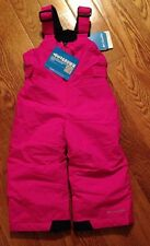 Nwts Columbia Girls Toddler Chiller Snow Bib Sz: 3T
