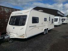 Bailey 2 Axles Mobile & Touring Caravans 6 Sleeping Capacity