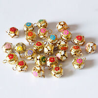 12mm Hollow Pet Dog Bells Small Jingle Bell Fit Festival Jewelry Pendant ATCA