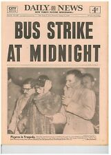 DAILY NEWS - 1953 January 1 - BUS STRIKE AT MIDNIGHT CARBONE RILEY DESPIRITO