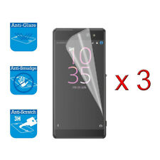 For Sony Xperia X Screen Protector Cover Guard LCD Film Foil x 3