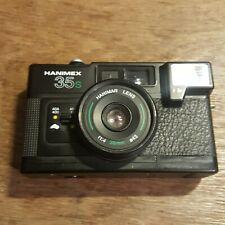 Hanimex 35s Compact Film Camera F1.4 38mm Lens Retro Lomo Rare! With FLASH