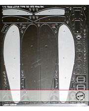 PE DETAIL WING SET for 1/12 TAMIYA LOTUS 72D FITTIPALDI WISELL RINDT