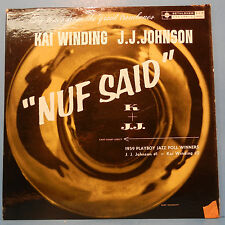 KAI WINDING J. J. JOHNSON NUF SAID BCP 6001 VINYL LP 1959 MONO GREAT COND! VG+!!