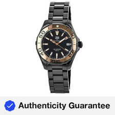 Nuevo Dama Tag Heuer Aquaracer 300M 35MM Negro Reloj de mujer WAY1355.BH0716