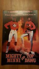"Cleveland Browns Minnifield/Dixon ""Corner Brothers"" 20x30 Poster Print"
