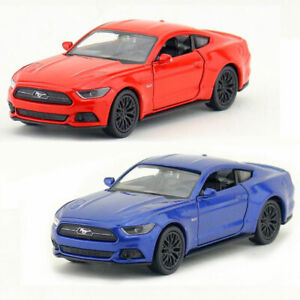 1:36 Ford Mustang GT 2015 Model Car Alloy Diecast Toy Vehicle Kid Gift Pull Back