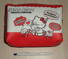 Hello Kitty Cosmetic Bag makeup bag Multipurpose Pouch #017
