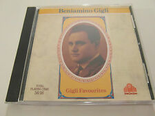 Beniamino Gigli - Gigli Favourites (CD Album 1989) Used Very Good