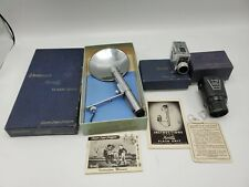 Vintage Universal Corp. Minute 16 Subminiature Film Camera w/ Viewer, Flash Unit