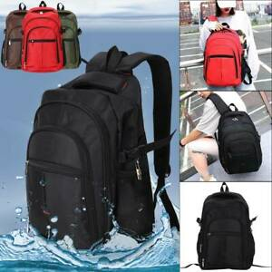 Men Boys Large Backpack Rucksack Fishing Sports Travel Hiking School Bag Ace