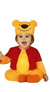 Toddlers Babies Cute Pooh Bear Fancy Dress Costume Infants Kids Outfit