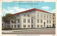 Columbus Ohio Travelers International HQ Exterior Antique Postcard K20631