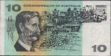 New listing Australia $10 Nd. 1968 P 40c Prefix Ssr Circulated Banknote