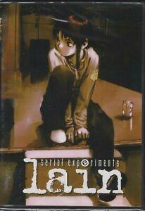 Serial Experiments Lain (TV) Complete Anime (UNCUT 1999 English Version) DVD Set