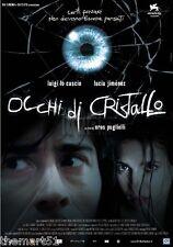 Occhi di cristallo (2004) VHS 01 1a Ed.   Luigi Lo Cascio
