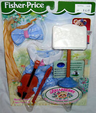 Briarberry Collection Music Lesson Accessory Set Bear Fisher Price MIB 1998 Doll