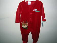 SLEEPER..... MY FIRST CHRISTMAS) SIZE 0-3 MO