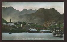 ADEN General view from the sea Boat early PPC