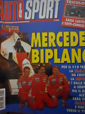 Auto & Sport ROMBO 8 1995 Mc Laren Mansell Hakkinen - Rally Liatti Cunico