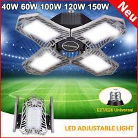 LED Garage Garagenleuchte Verformbare Einstellbar Highbay 40W 60W 100W 120W 150W