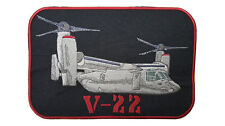 "V-22 Osprey, Military Embroidered Patch Approx Size 6.5"" x 9.5"""