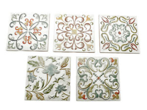 Fliesendekoration Dekoration Fliesen 5er Dekor-Set Dekore Bambola Color bunt