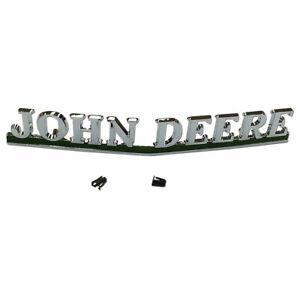 Front Emblem Name Plate AA5383R fits J D 40 50 60 70 80