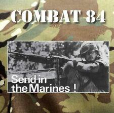 "COMBAT 84 ""Send in The Marines"" British Oi! Punk Army Green vinyl LP (2020)"